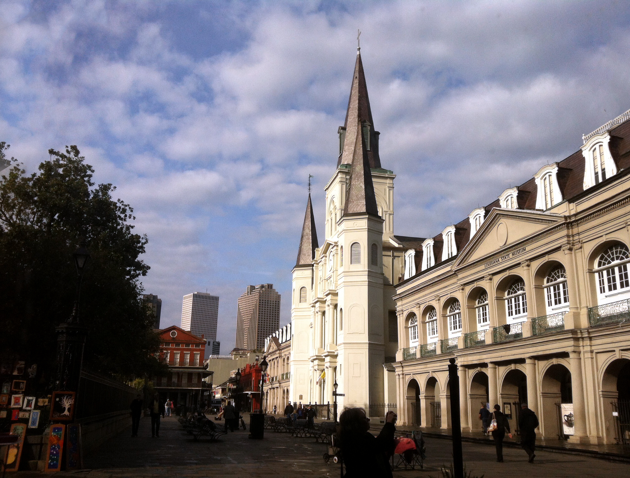 View of St. Louis Cathedral